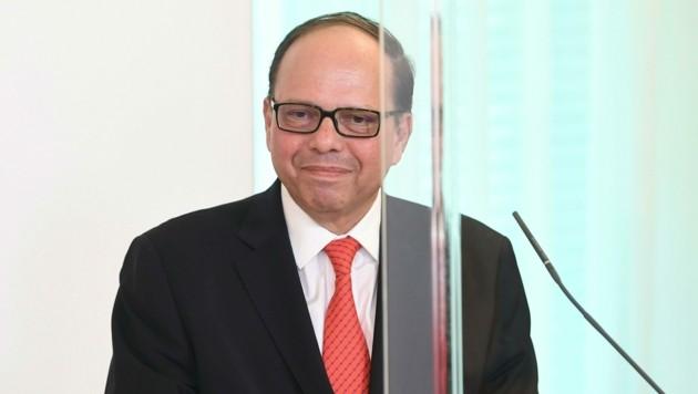 Ärztekammer-Präsident Thomas Szekeres
