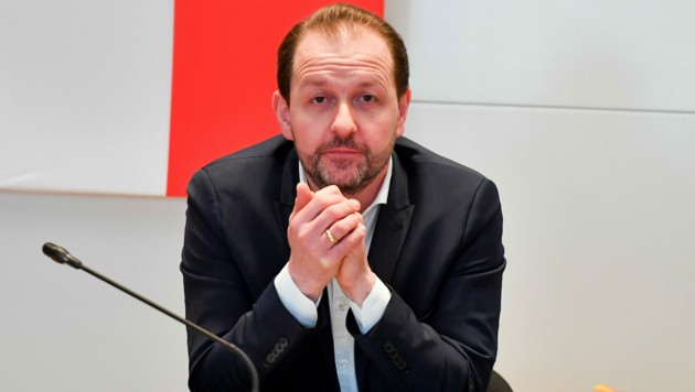 Der Linzer Vize-Bürgermeister Bernhard Baier. (Bild: © Harald Dostal)