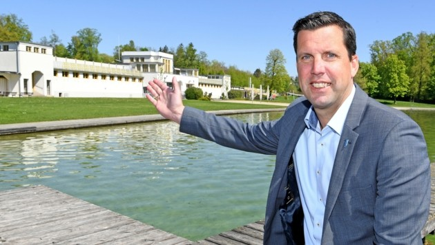 Stefan Krapf, Bürgermeister von Gmunden (Bild: Fellner Klemens)