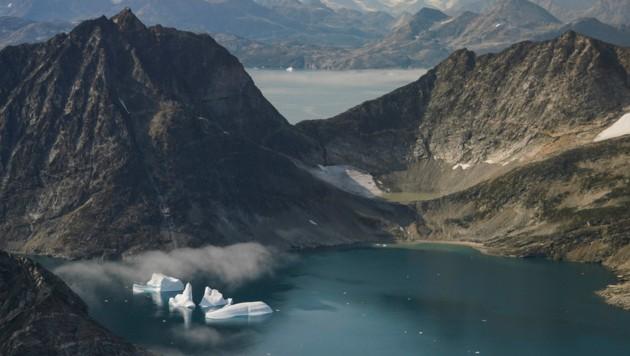 Die US-Regierung unterstützt Grönland mit einem Millionenpaket. Im Vorjahr hatte US-Präsident Donald Trump die Absicht geäußert, die größte Insel der Welt kaufen zu wollen. (Bild: AP)