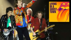 Ronnie Wood, Mick Jagger, Charlie Watts und Keith Richards (v.l.) (Bild: AP, Screenshot youtube.com, krone.at-Grafik)