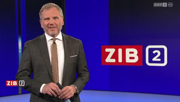 """""""ZiB""""-Anchor Armin Wolf trägt jetzt Bart. Das sorgt für Gesprächsstoff. (Bild: ORF)"""