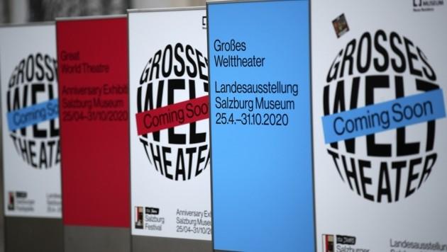 Die Ausstellung im Salzburg Museum hätte pünktlich ihre Pforten öffnen und die Besucher auf den Festspielsommer einstimmen sollen. (Bild: Tröster Andreas)