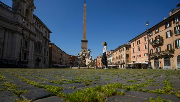 Italien plant wirtschaftsfördernde Maßnahmen in der Größenordnung von 155 Mrd. Euro. (Bild: APA/AP)