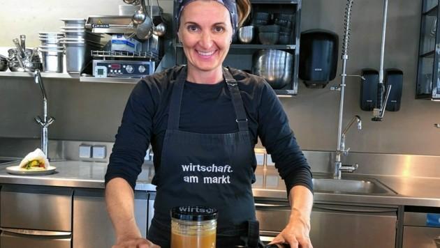 Köchin Heidi Ratzinger von der Wirtschaft am Markt (Bild: Wirtschaft am Markt)