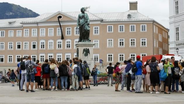 Touristenmassen werden heuer wohl ausbleiben. Die Stadt steht vor einer Kehrtwende. (Bild: Tschepp Markus)