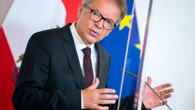 Gesundheits- und Sozialminister Rudolf Anschober (Bild: APA/GEORG HOCHMUTH)