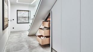 Ideen für Ihren Vorraum entdecken, auch für kleine Grundrisse (Bild: Peter Max)