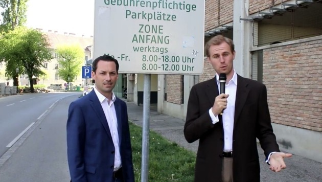 Stefan Seif und Patrick Mayer (Bild: Volkspartei Krems)