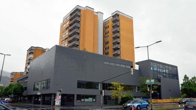 Das Ausbildungszentrums West (AZW) liegt am Innsbrucker Innrain. (Bild: Andreas Fischer)