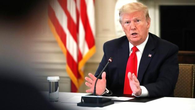 US-Präsident Donald Trump (Bild: Associated Press)