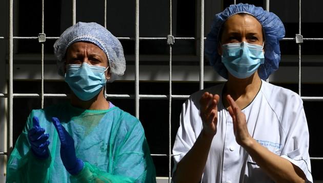 Spanien meldete am Donnerstag so wenige Covid-19-Todesfälle wie zuletzt vor sechs Wochen. (Bild: AFP)