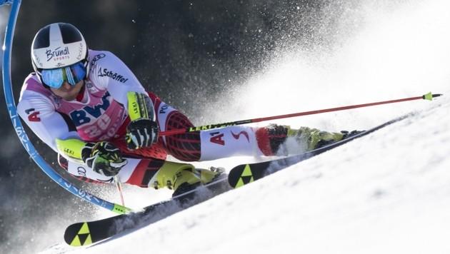 Ein 15. Platz in Adelboden im Jänner war das beste Resultat für Stefan Brennsteiner in der Vorsaison - zu wenig für seine Fähigkeiten. (Bild: ANTHONY ANEX)