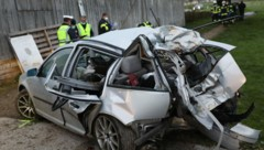 Bei diesem Unfall am 19. April wurden zwei junge Menschen getötet (Bild: Matthias Lauber/laumat.at)
