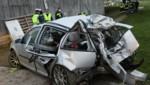 Bei diesem Unfall am 19. April wurden zwei junge Menschen getötet. (Bild: Matthias Lauber/laumat.at)