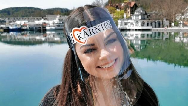 Gesichtsschutz aus Kärnten für Kärnten (Bild: Robert Graf)