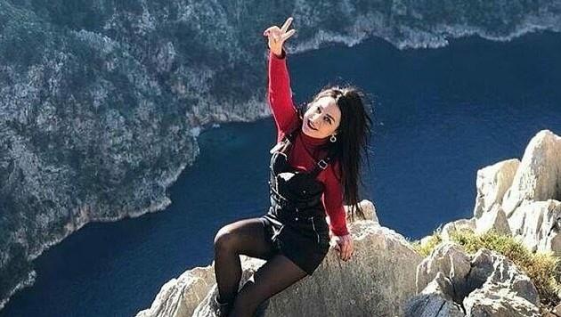 Olesya Suspitsyna bezahlte für dieses Foto mit ihrem Leben. (Bild: instagram.com)