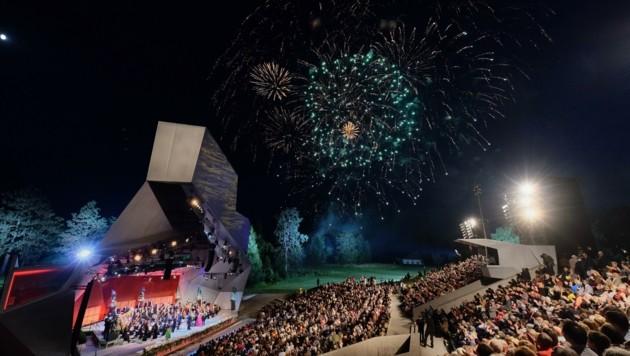 Am internationalen Kultur-Hotspot Grafenegg wird bis Ende Mai entschieden, ob gespielt wird (Bild: Hans Leitner)