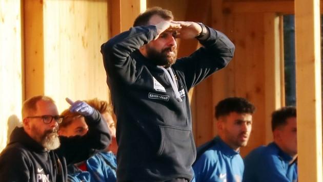 Blickt mit dem SAK voraus: Neo-Trainer Roman Wallner. (Bild: krugfoto/Krug Daniel sen.)