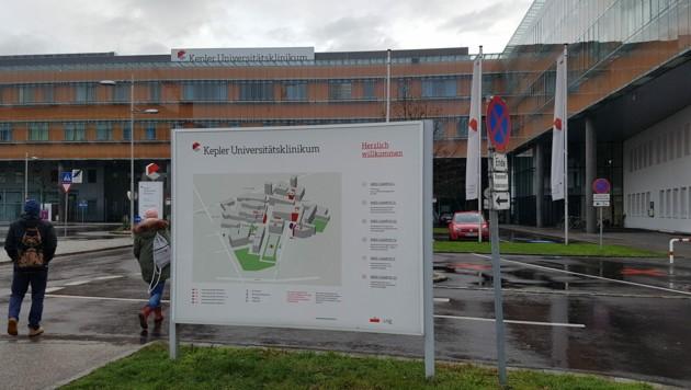Kepler Universitätsklinikum Linz (Bild: Werner Pöchinger)
