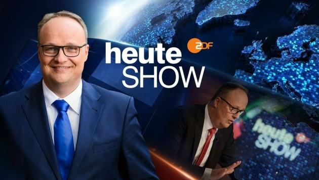 Oliver Welke, der Moderator der Satiresendung (Bild: ZDF)