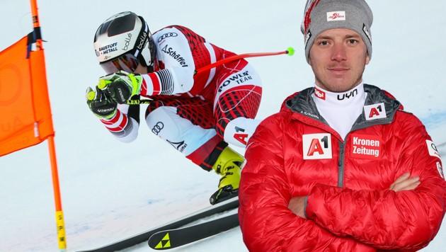 Florian Scheiber (re.) kümmert sich in Zukunft um Nicole Schmidhofer und Co. (Bild: GEPA, krone.at-Grafik)