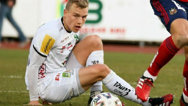 Nun fix: Sven Spranglers Saison ist vorbei. Auch sein Vertrag läuft aus. (Bild: GEPA )