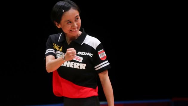 Liu Jia durfte am Ende jubeln. (Bild: GEPA )