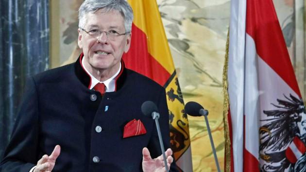 Kärntens Landeshauptmann Kaiser (Bild: APA/GERT EGGENBERGER)
