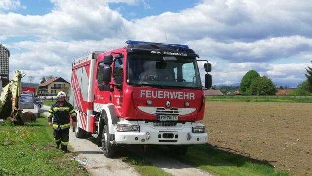 Die Feuerwehr Söding stand im Einsatz (Bild: Feuerwehr Söding)