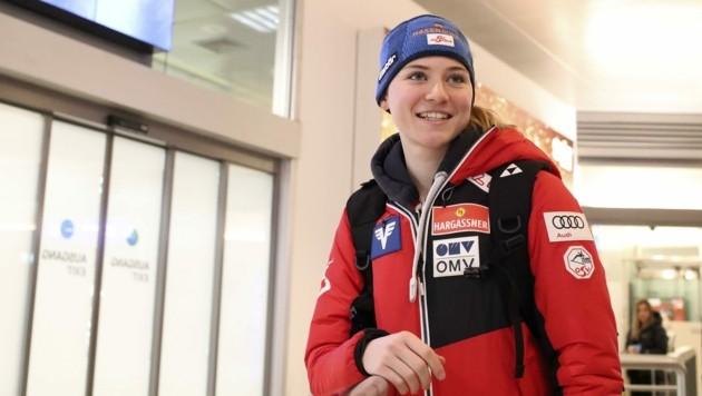 Neu im Skisprung-Nationalteam: Saisonaufsteigerin Marita Kramer aus Maria Alm. (Bild: Tröster Andreas)