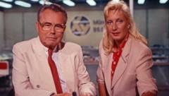 Eduard Zimmermann mit Assistentin Sabine Zimmermann im Jahr 1988 (Bild: Impress / United Archives / picturedesk.com)