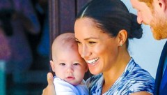Herzogin Meghan und Prinz Harry mit ihrem Sohn Archie (Bild: www.photopress.at)