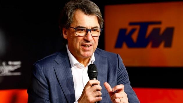 KTM - hier Vorstandschef Stefan Pierer - geht Schritt für Schritt wieder in den Normal-Modus (Bild: Gerhard Schiel)