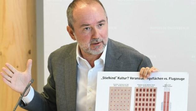 SPÖ-Kultursprecher Thomas Drozda (Bild: APA/HELMUT FOHRINGER)