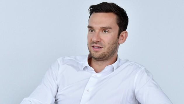 Walter Scherb (30) steht an der Spitze des Familienunternehmens (Bild: Markus Wenzel)