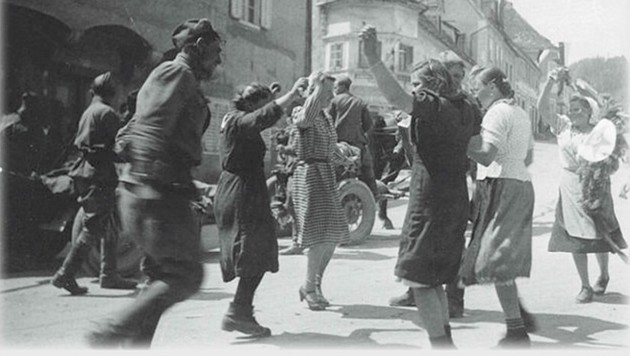 Weiz am 8. Mai 1945 (Bild: Clio Verlag)