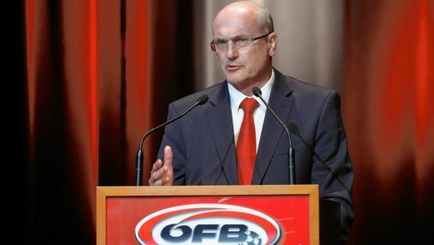 StFV-Präsident Dr. Wolfgang Bartosch (Bild: GEPA pictures)