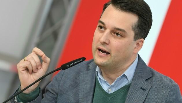 Dominik Nepp (Bild: APA/Helmut Fohringer)