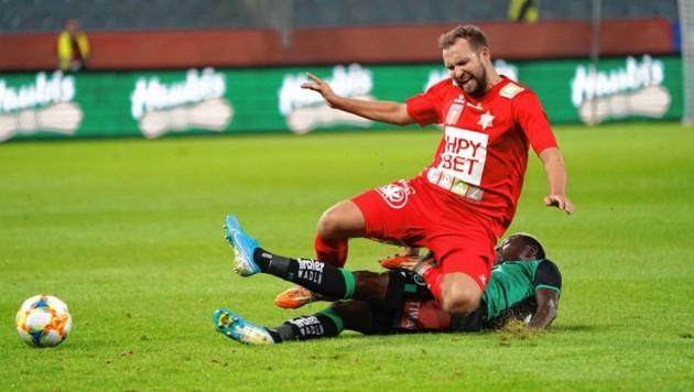 Wann Peter Kozissnik (rot) und Co. wieder spielen, steht weiter in den Sternen. (Bild: Sepp Pail)