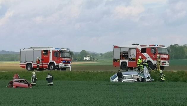 Der Unfall forderte ein Todesopfer. (Bild: Daniel Scharinger)