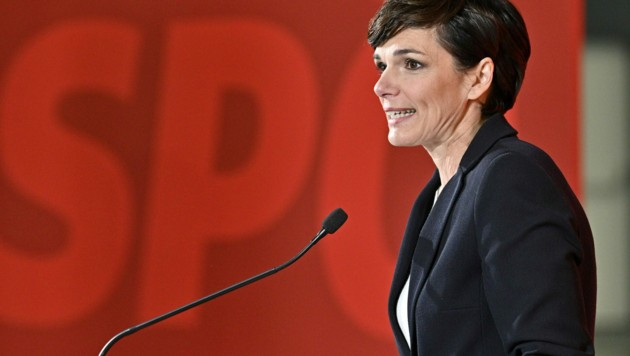 SPÖ-Chefin Pamela Rendi-Wagner (Bild: APA/HANS PUNZ)
