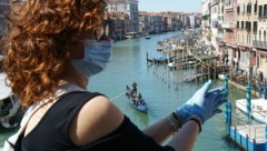 Die Lagunenstadt Venedig ist stark vom Tourismus abhängig. (Bild: AFP)