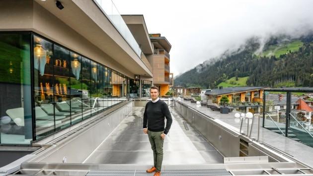 Peter Hettegger und sein Hotel Edelweiß (Bild: Gerhard Schiel)