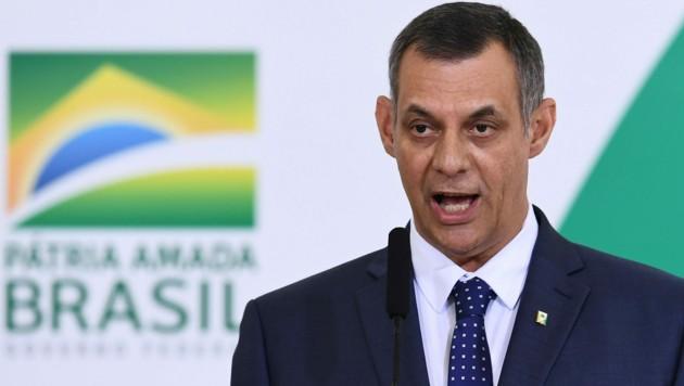 Brasiliens Regierungssprecher Otavio Rego Barros (Bild: AFP)