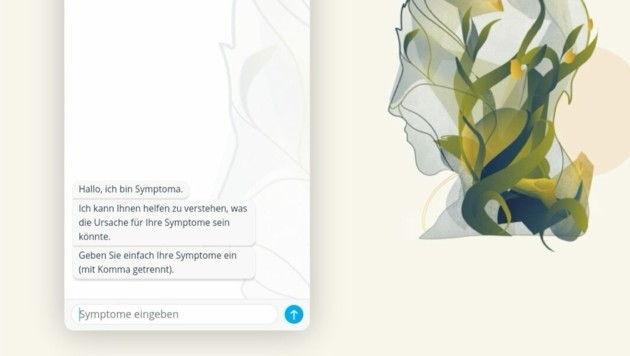 Der digitale Gesundheitsassistent Symptoma steht hoch im Kurs (Bild: www.symptoma.at)