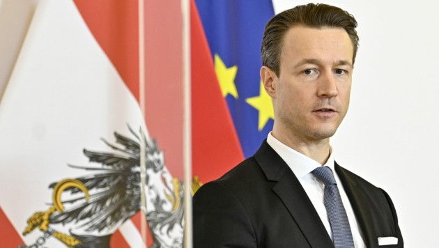 Finanzminister Gernot Blümel (ÖVP) (Bild: APA/HANS PUNZ)