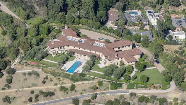"""Der """"Meghingham Palace"""" befindet sich in der Privat-Enklave Beverly Ridge Estates. (Bild: www.viennareport.at)"""