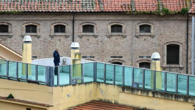 Ein Gefängnis in Rom (Bild: AFP)