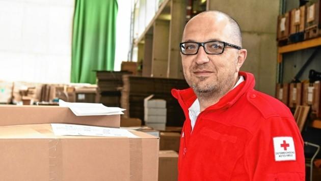 Michael Kirchner aus Zirl ist der älteste Zivildiener Tirols. (Bild: Daniel Liebl)